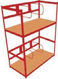 Hanging Parts Racks Deluxe Systems