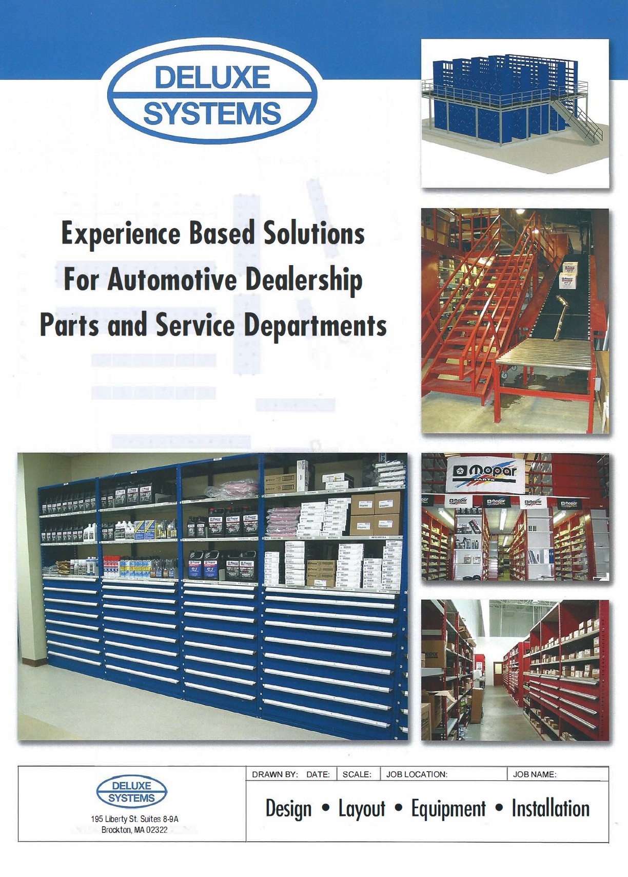 AUTOMOTIVE SHELVING & STORAGE EQUIPMENT