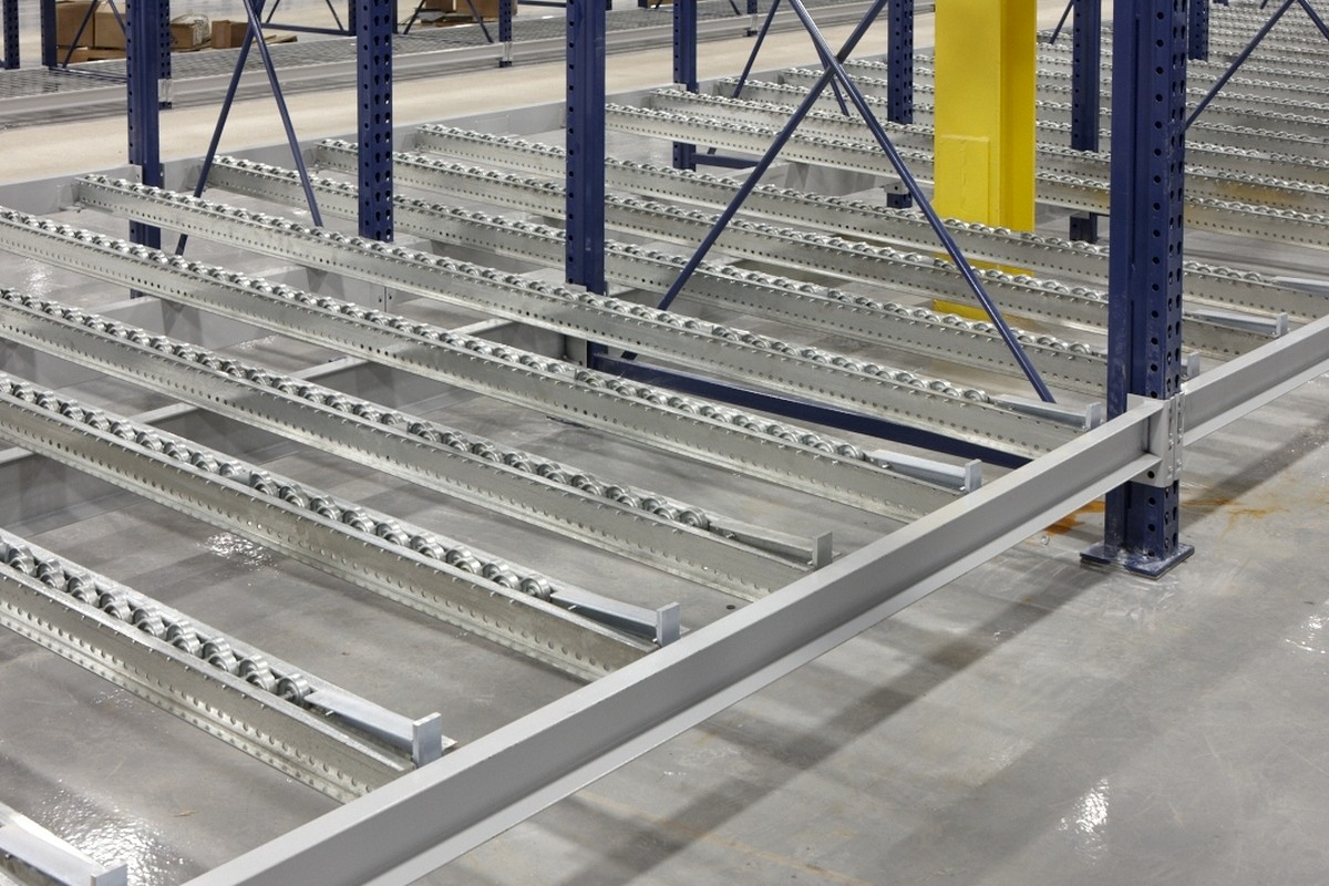 Pallet Flow Rack Deluxe Systems